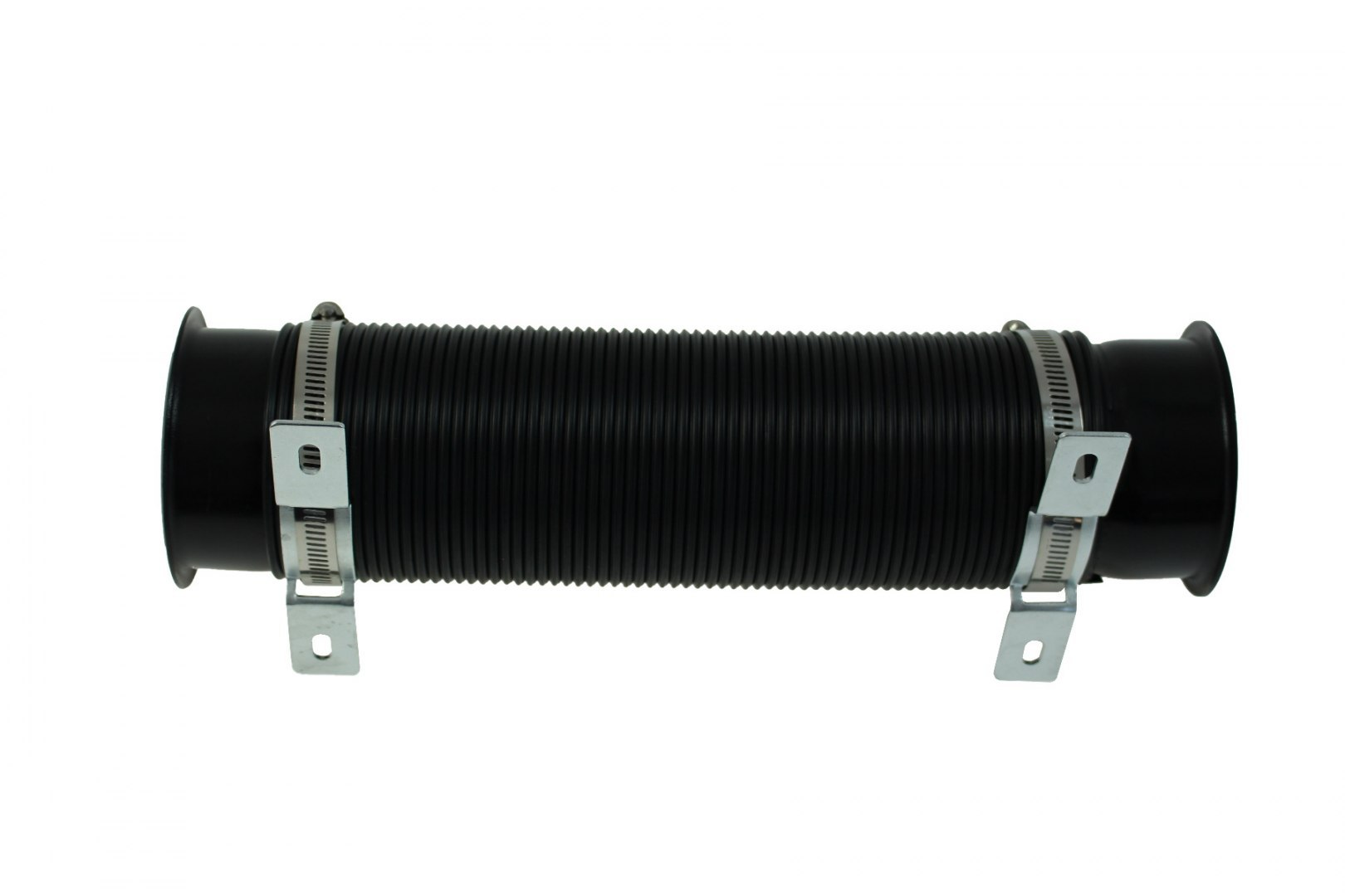 Przewód powietrza POWER+ 77mm BLACK - GRUBYGARAGE - Sklep Tuningowy